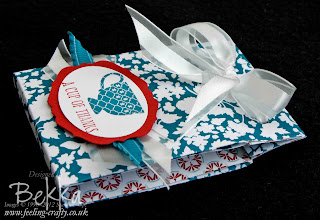 Thank You Tea Bag Holder by Bekka www.feeling-crafty.co.uk
