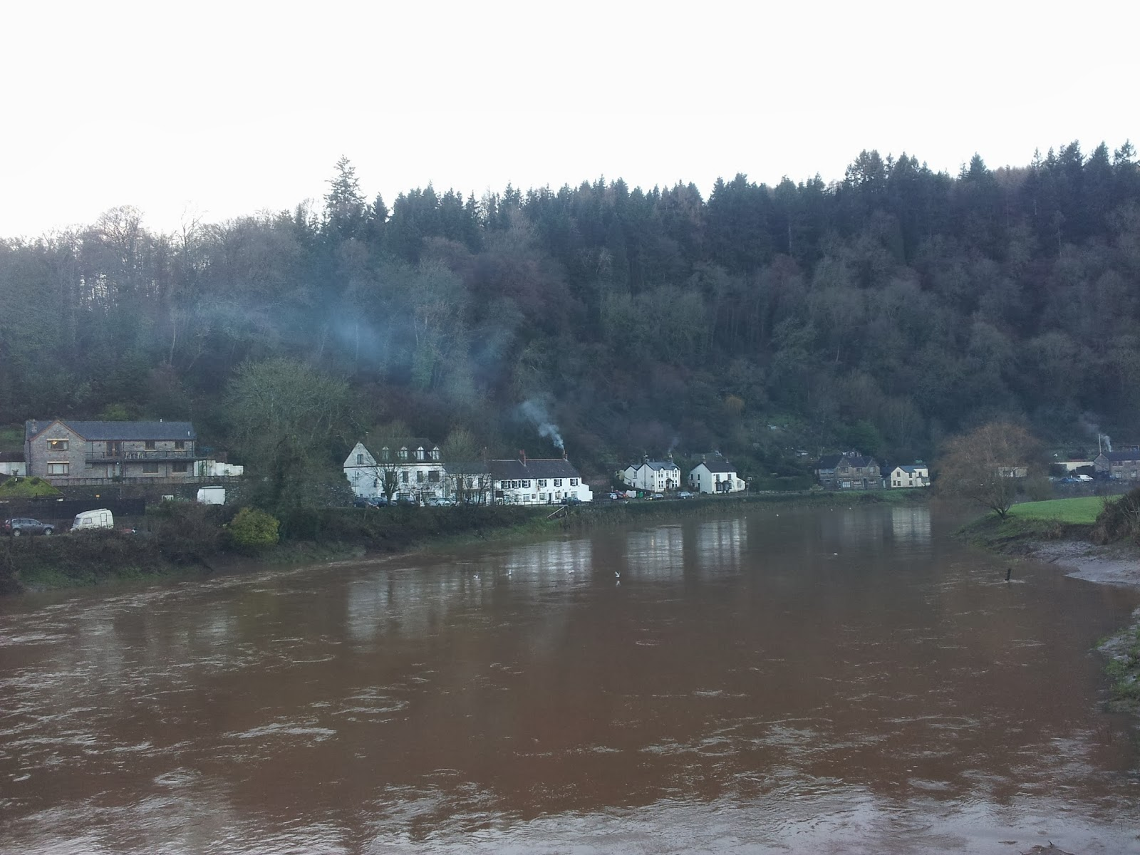 Houses on the River Wye