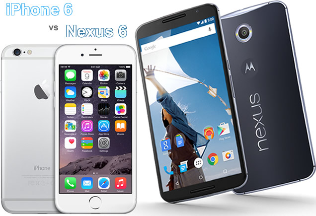 iPhone 6 vs Nexus 6 Specs Comparison: Camera, Size, Speed
