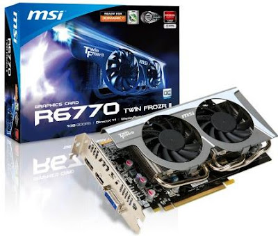 AMD 6770 from MSI - MSI R6770 Twin Frozr II/OC