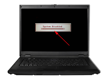 Laptop Locked up on Any Laptop With 12 up
