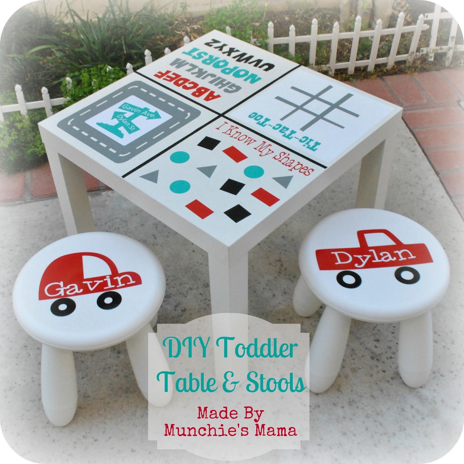 Diy Personalized Toddler Stool