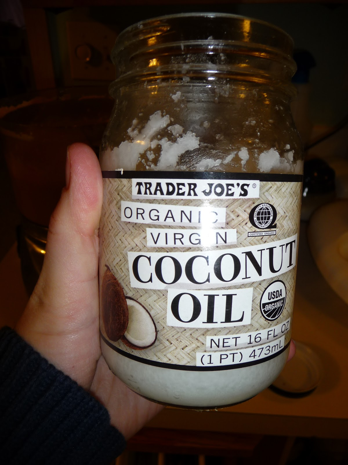 homemade peanut butter with coconut oil