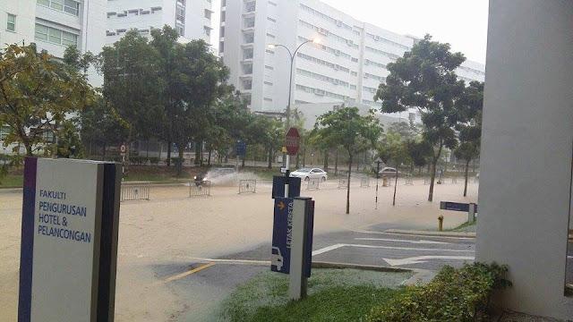uitm puncak alam banjir