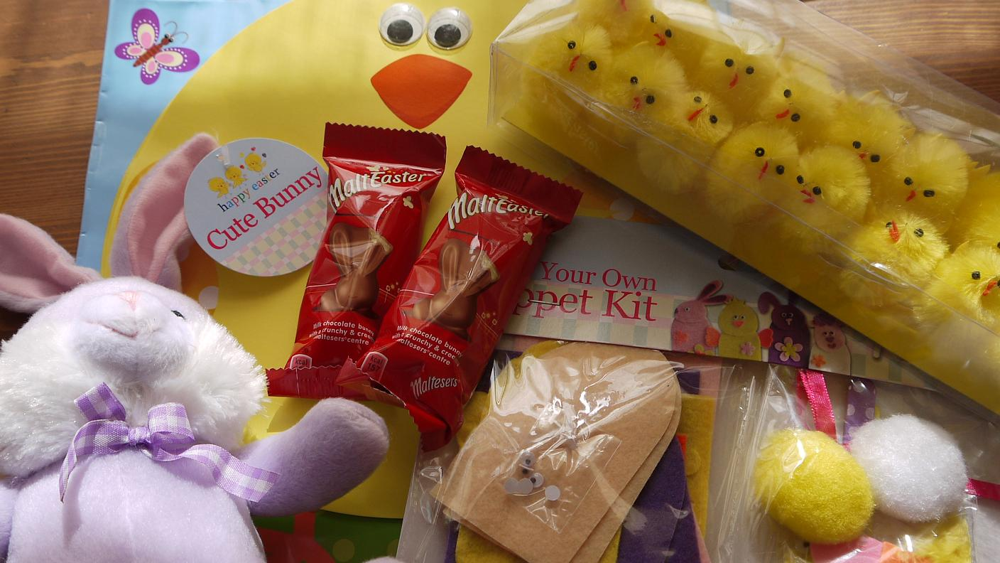 Inside the wendy house poundland for easter easter at poundland negle Choice Image