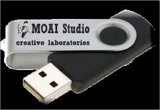 how to repair and format Moai Custom USB stick MA8100, MA8102 and  MA8103