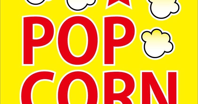 ポップBOX 使える店舗POPイラストPDF無料ダウンロード ... Popcorn