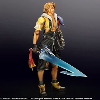 Square Enix Play Arts Kai Final Fantasy X HD Remastered Tidas Figure
