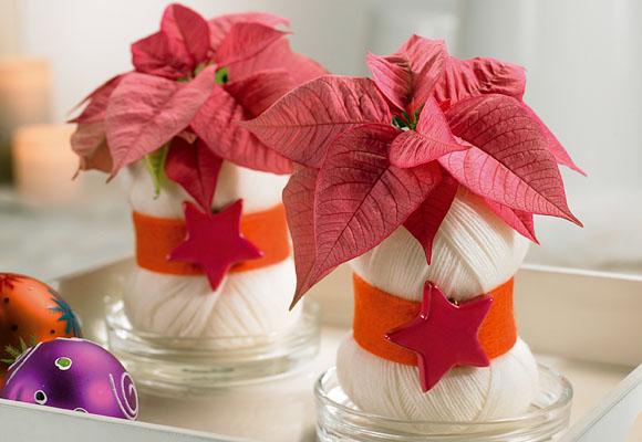 Bodas cucas centros navide os para decorar tu boda - Centros navidenos caseros ...