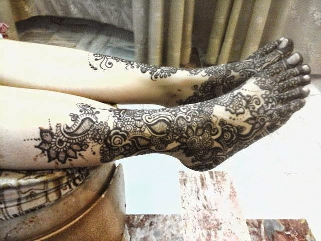 Best bridal mehndi design
