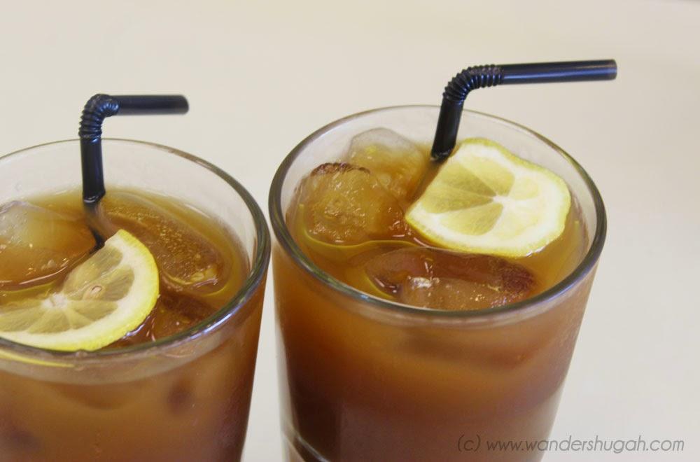 House Blend Iced Tea of Sab Bistro, Angeles City, Pampanga