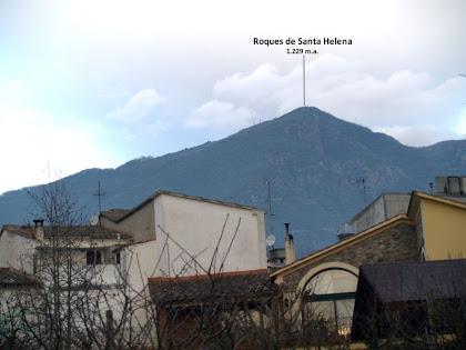 Les Roques de Santa Helena vistes des del Passeig del Montseny