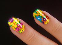 Dois dedos com glamour