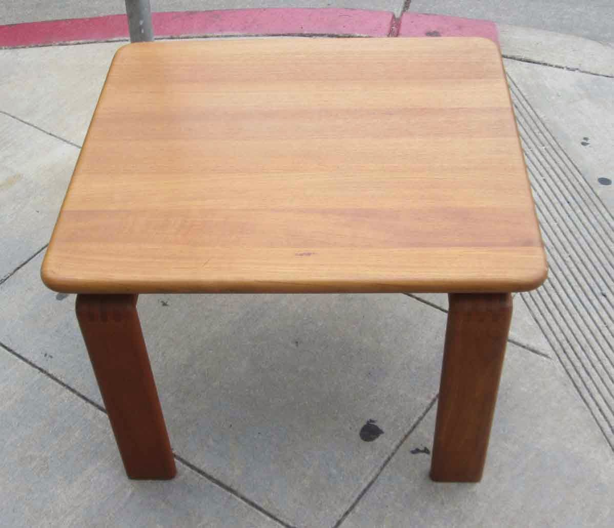 Uhuru Furniture Collectibles Sold Solid Teak Coffee Table 75