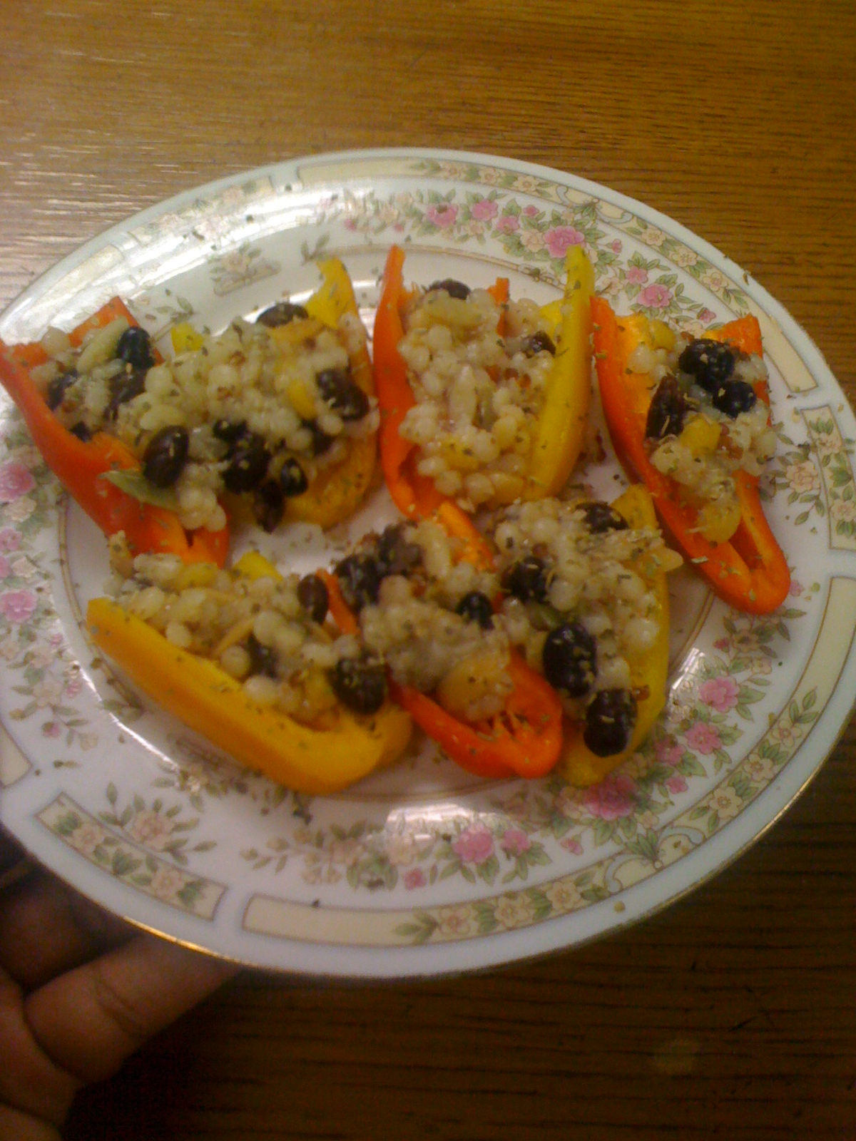 peppers filled with hearty yumminess these miniature bell pepper boats ...