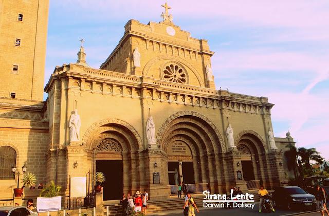 Manila Cathedral Visita Iglesia