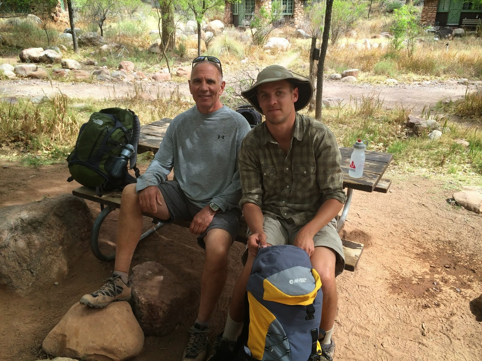 With Danny at Phantom Ranch, March 29, 2014