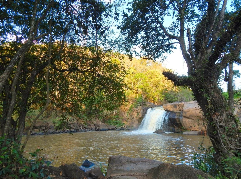 Cachoeira das Andorinhas em Monte Alegre do Sul.