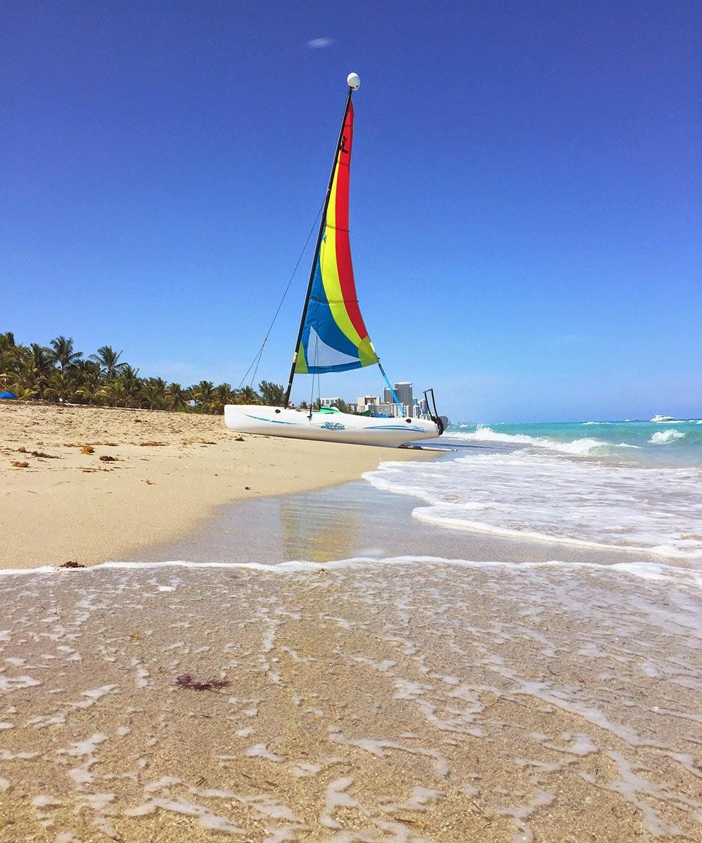 Miami Sailboat