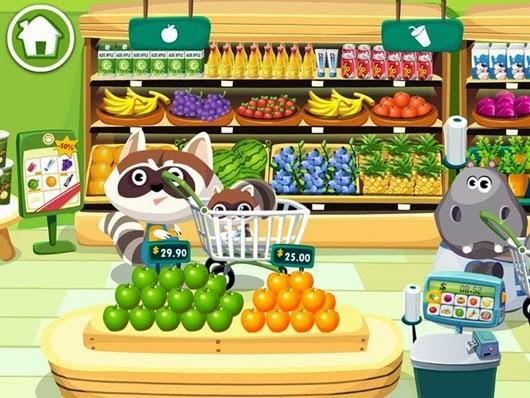 Dr. Panda en el Supermercado