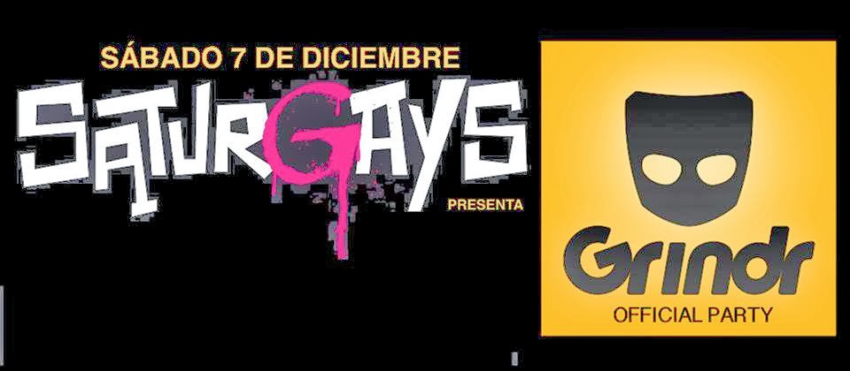 GRINDR  OFFICIAL PARTY EN SATURGAYS BARCELONA!!!!