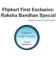 Exclusive Raksha Bandhan Special Offer  Buy Rs.2000 Gift Voucher & Get An Additional 10% voucher Via Flipkart first:buytoearn