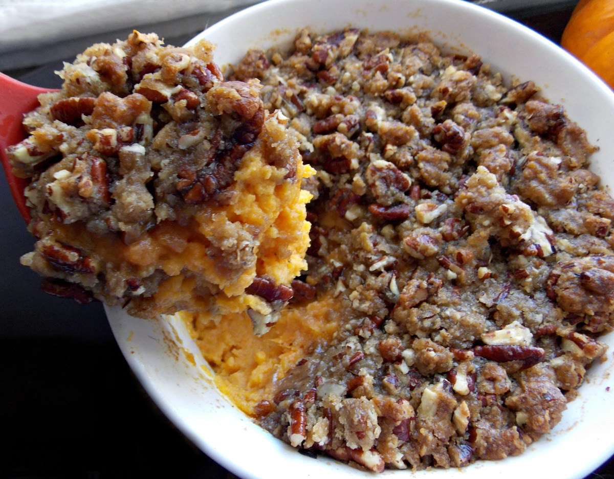 Blog - Sweet Potato Casserole with Pecan Topping - Get the Classic ...