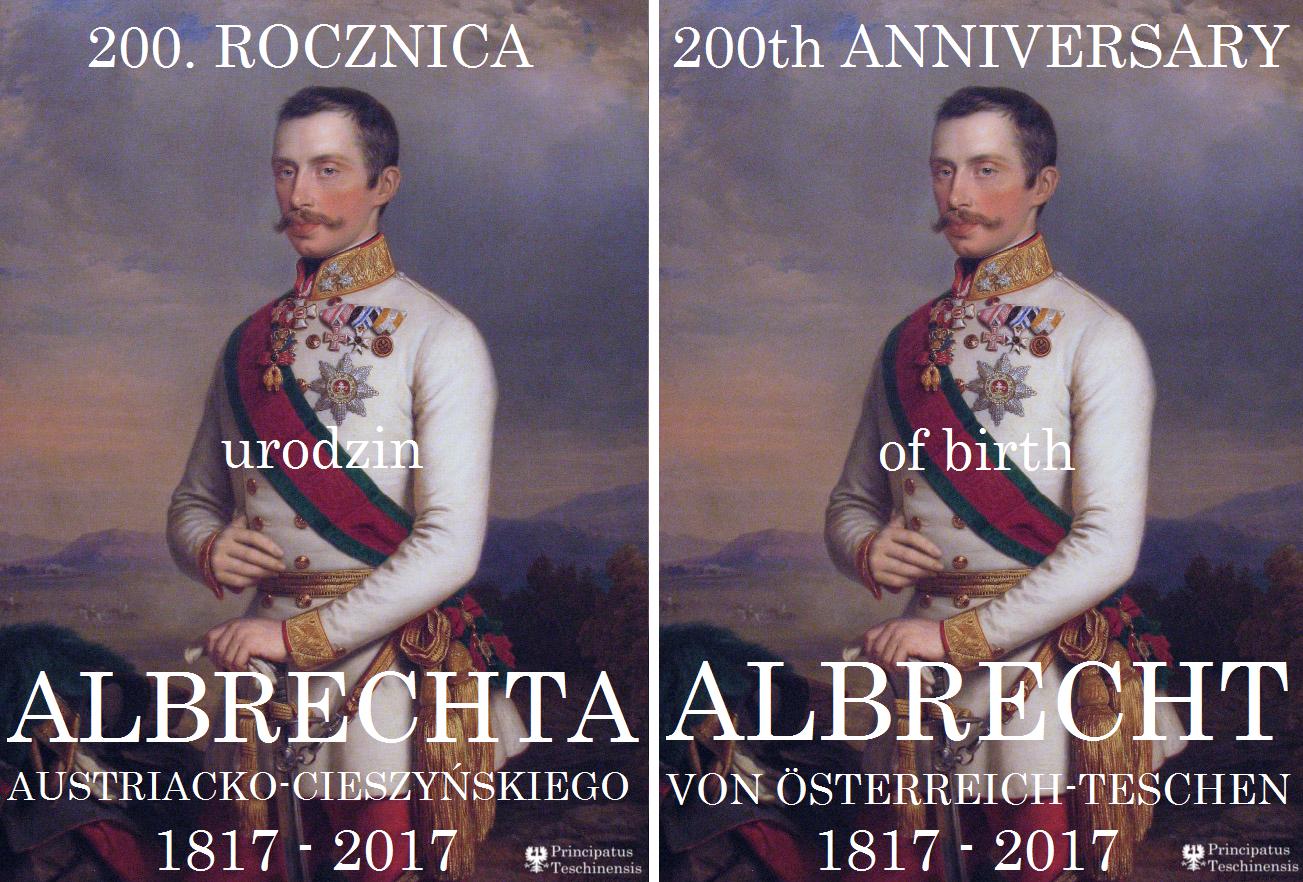 200th ANNIVERSARY OF THE BIRTH OF ALBRECHT VON ÖSTERREICH-TESCHEN