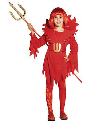 Halloween Djævle Kostume