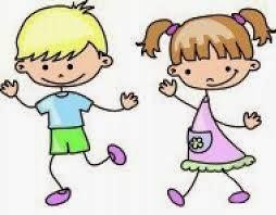 Resultado de imagen de dibujo niños bailando jota