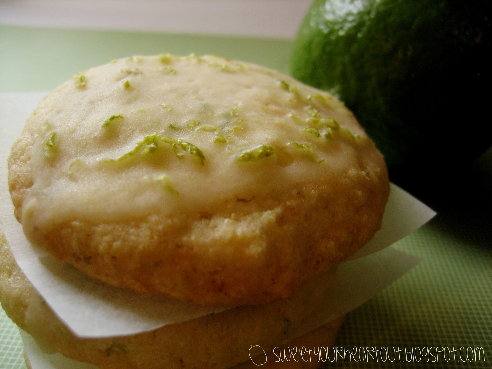 Sweet Your Heart Out: Cornmeal Lime Cookies
