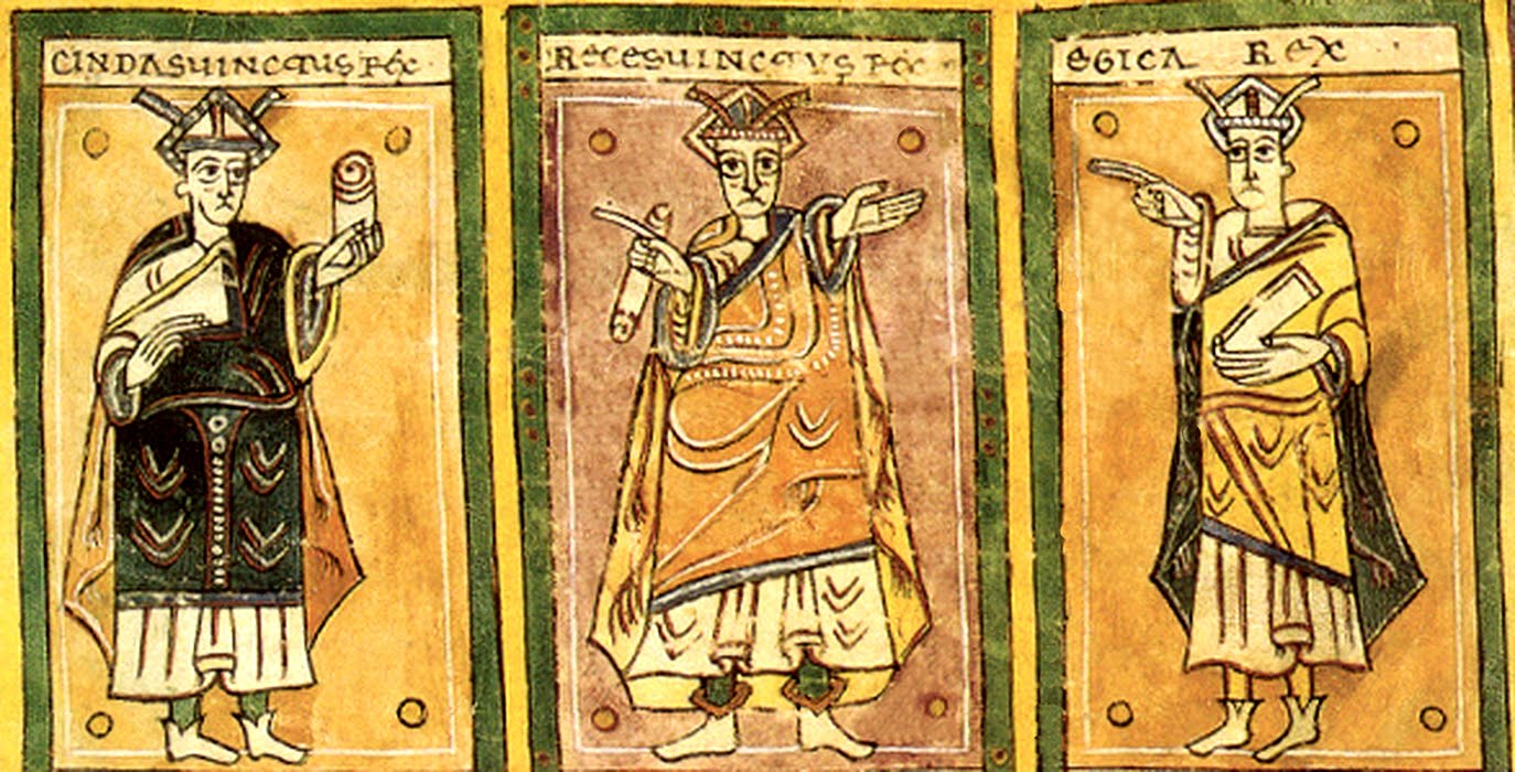 Egica, a king of the Visigoths of Hispania