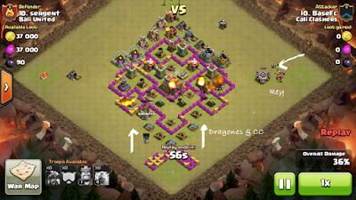 Estrategia dragones clash of clans