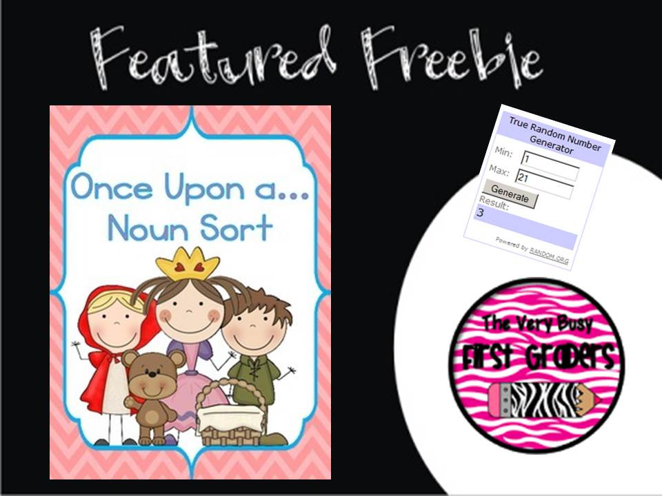 June 20th ~ Freebie Friday's Featured Freebie is a noun sort and more #Freebies included. #Free