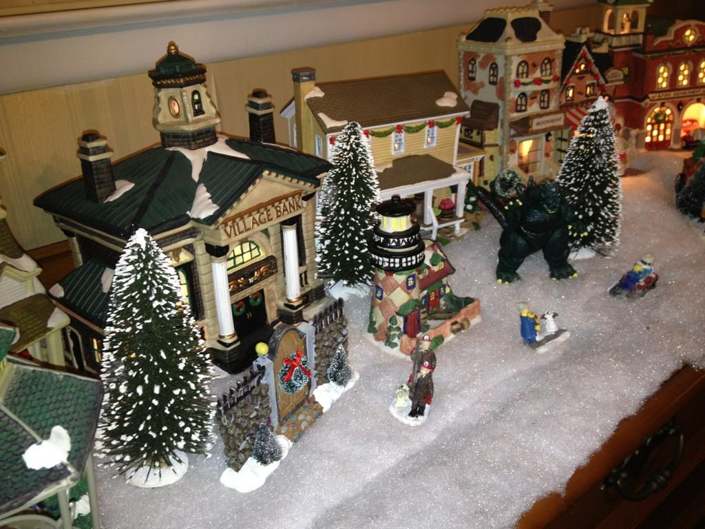christmas decorations - Christmas Village Decorations