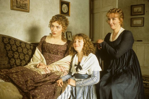 Elinor, Marianne, and Margaret Dashwood (Sense and Sensibility 1995)