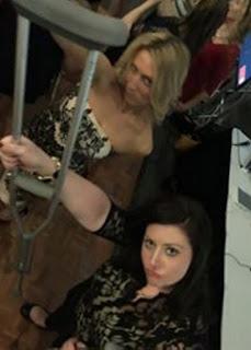 Crutches on the dance floor