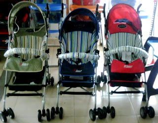 Kereta Dorong Bayi Stroller Pliko Winner