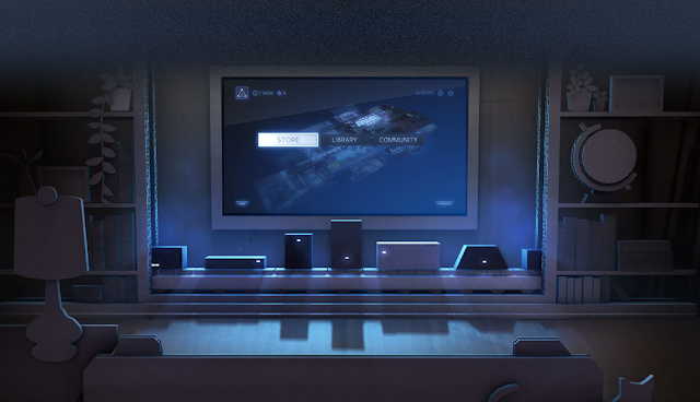 steam machines powered by steamos linux