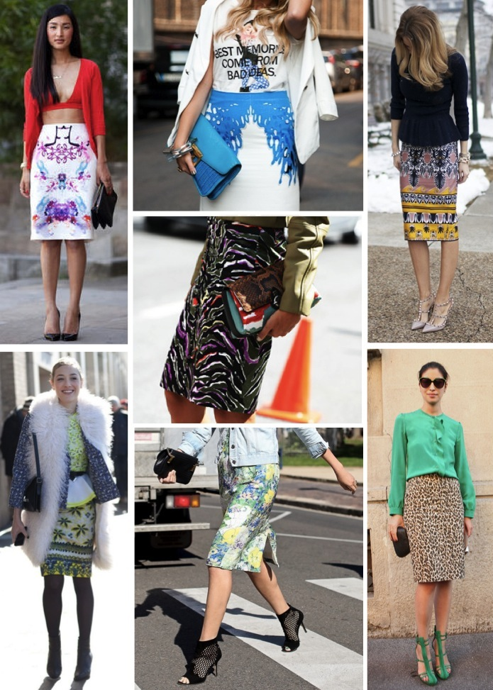 street style pencil skirts