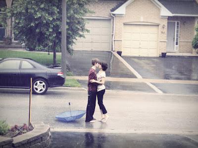fotos de besos romanticos