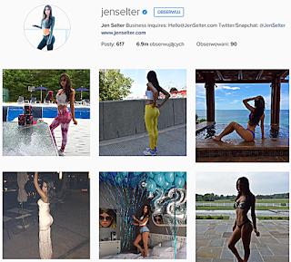 Fitness, Instagram, Jen Selter, sport