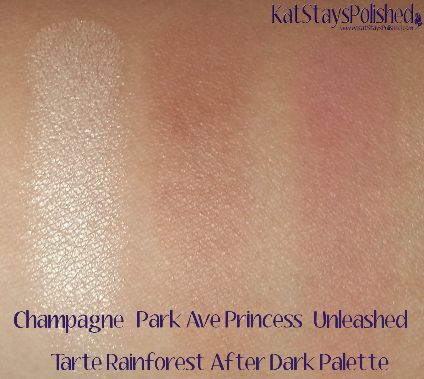 Tarte Rainforest After Dark Palette - Cheek Colors | Kat Stays Polished