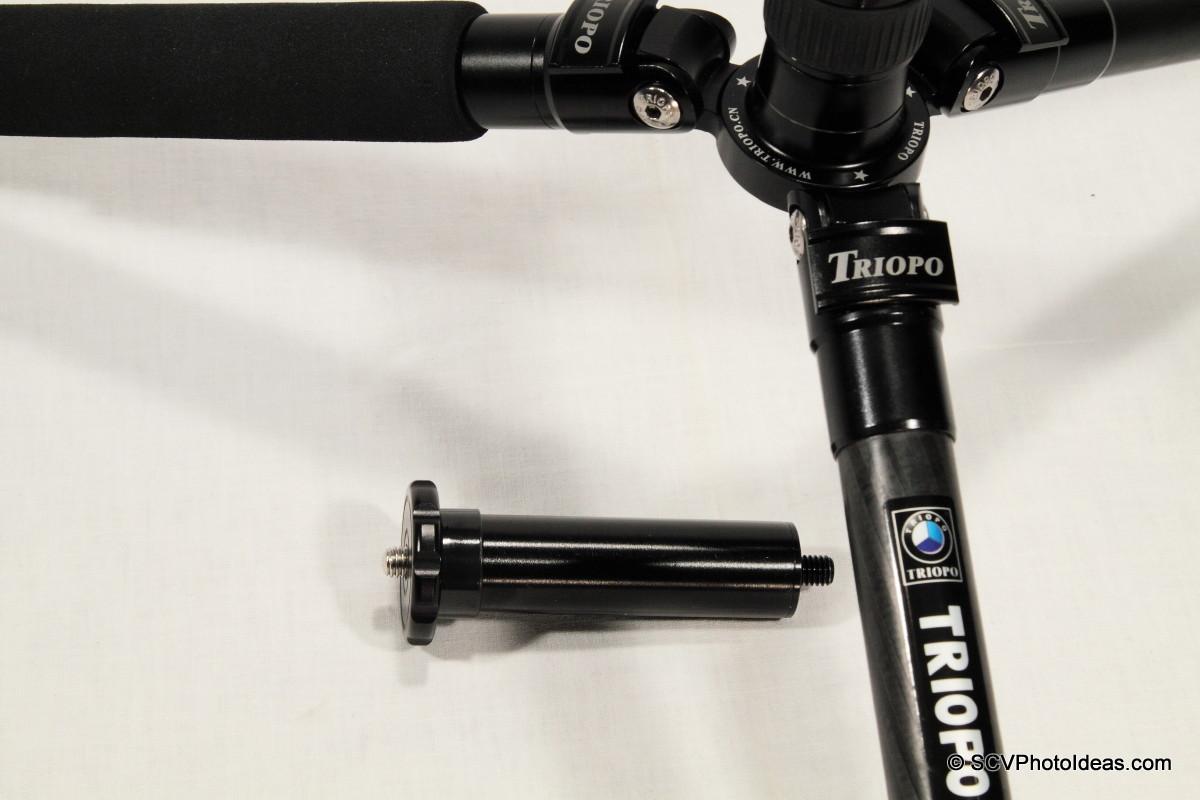 Triopo GT-3228X8C lowest pos w/ short center column - closeup