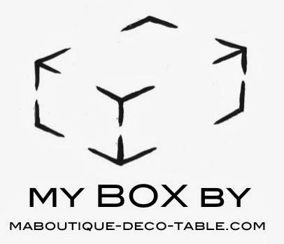 En vente dans Ma Boutique: la box déco table