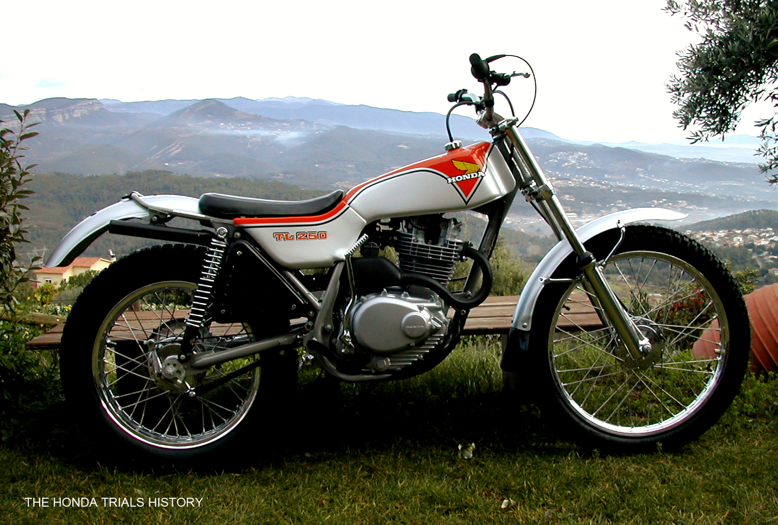 motorcycle 74 only trial history of the honda trial models