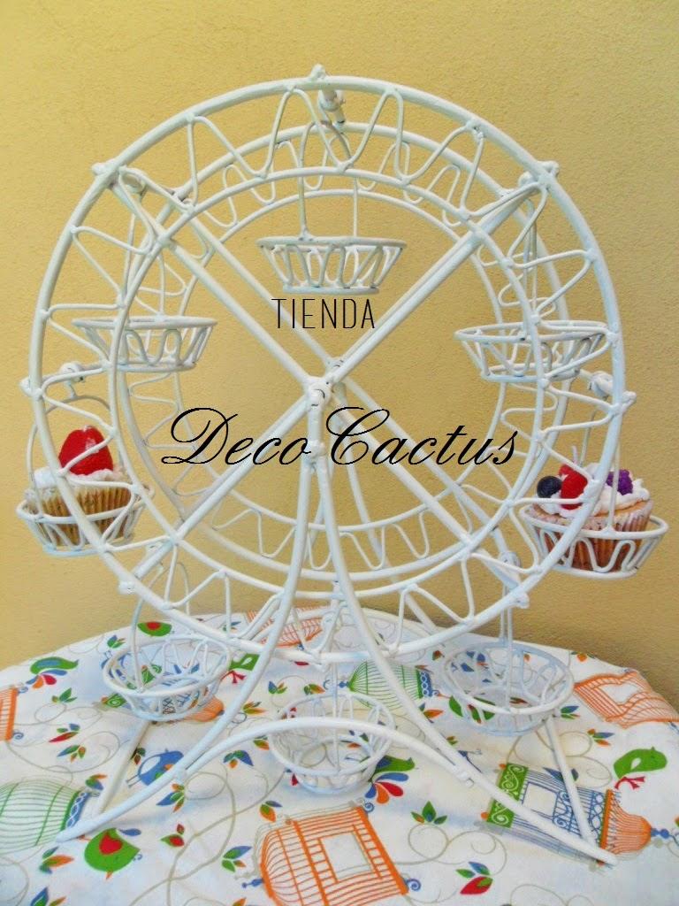 Rueda de la fortuna para cupcakes tienda deco c for Deco c