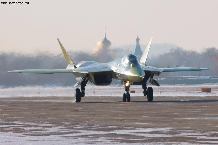 Russian Stealth Jet Fighter Sukhoi PAK-FA T-50