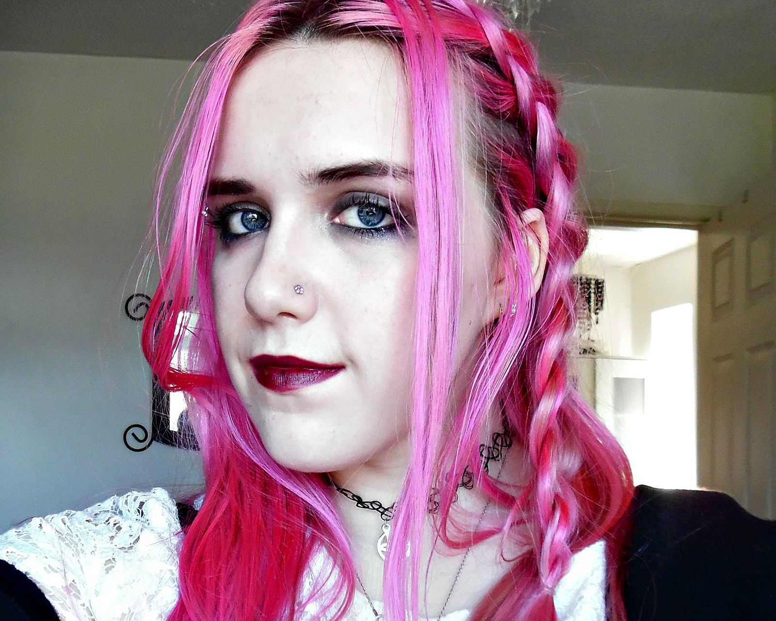 crazy colour review pinkissimo pink hair dont care yeah thats right can you believe how beautiful and vibrant this wonderful pinkissimo dye is - Crazy Color Pinkissimo