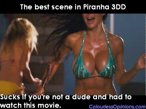 Piranha 3DD boobies